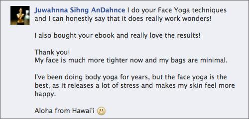 Testimonial Face Yoga Method