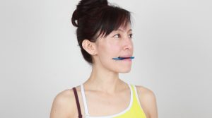 fix crooked smile with easy face yoga exercises