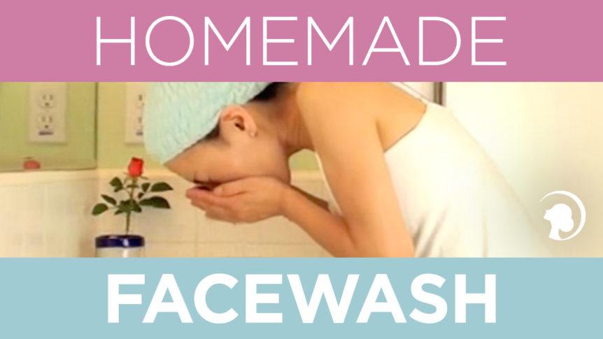 Fumiko Takatsu washing her face - 100 times splash skin care routine.