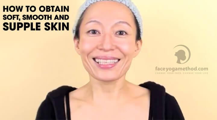 Fumiko Takatsu, the founder of Face Yoga Method - a close up photo.