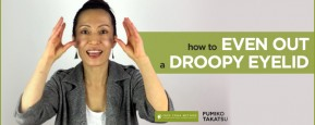 How To Even Out A Droopy Eyelid