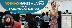 How Yoshiko Makes a Living with the Face Yoga Method