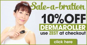 dermaroller-sale-zest-face-yoga-method-discount