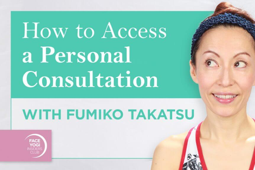 Photo featuring Fumiko Takatsu smiling for the blog cover How to access a personal consultation with Fumiko