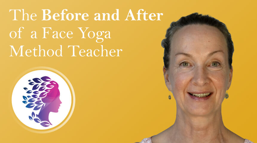 The close-up photo of Face Yoga Method Certified Teacher Vanamala Mayr-Reisch